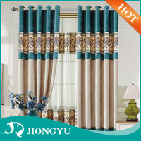 Latest design Factory price Luxury Blackout curtain design for living room