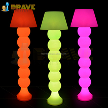 Lighting modern floor lamp RGB outdoor standing lamp unique led lamp