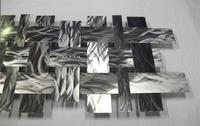 2015 high quality contemporary stainless steel wall sculpture