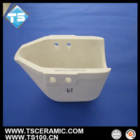 Good Heat Retaining Ceramic Pouring Ladle,Aluminium Titanate Material