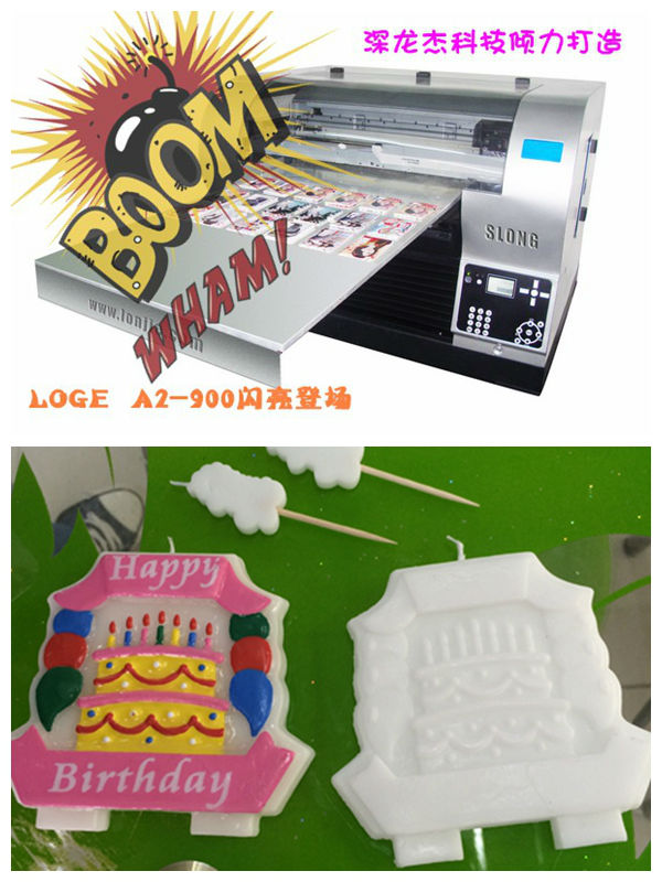 Printing machine for candle,digital candle A2 digital printer
