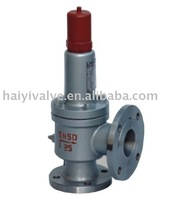 LPG safety valve/Pressure relief valve for oil vapor(soft sealing)