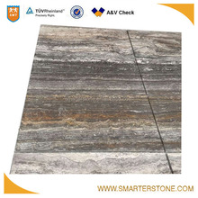 Import from iran wood vein cut travertine marble