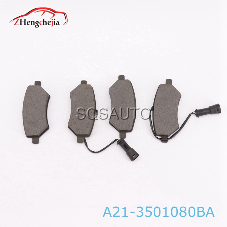 Hot selling car auto parts for chery A21-3501080BA  Front wheel brake pads