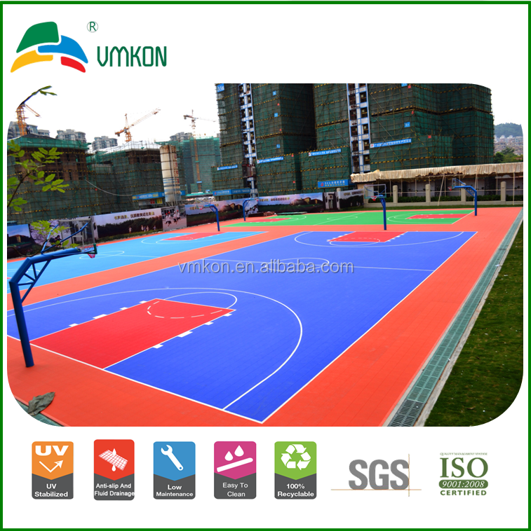 Heavy-duty athletic multi-court flooring vmkon vha-303015
