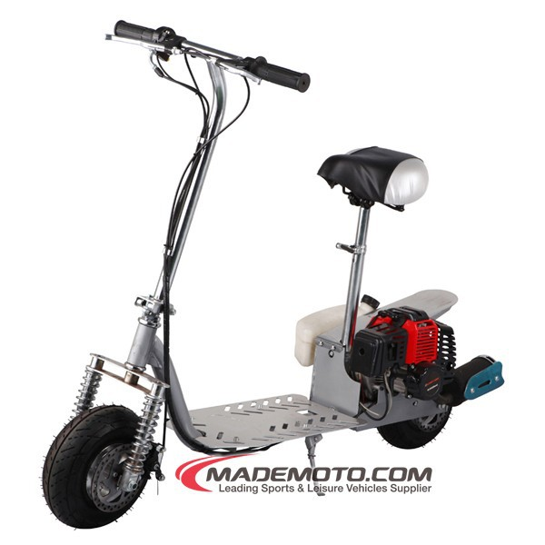 2 Wheels Gas Powered Engine Mini 49CC Gas Scooter for Teenagers