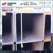 s235jr q345b weld dark black square tubes pipe
