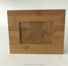 Newest European style bamboo picture photo frame 4 X 6 inches 8X10 inches custom size