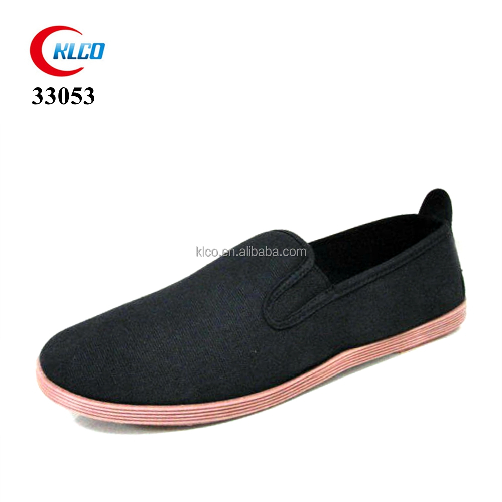 exercise High-quality Chinese kungfu textile upper canvas shoe