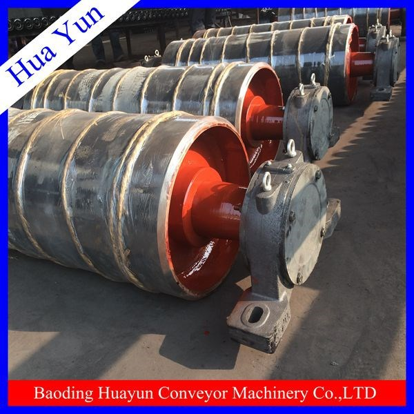 welding machine made good quality pulley/belt conveyor idler pulley