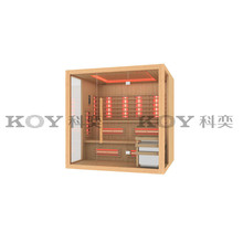 KOY far infrared sauna room new sauna cabin wholesale spa sauna house 32S-L6