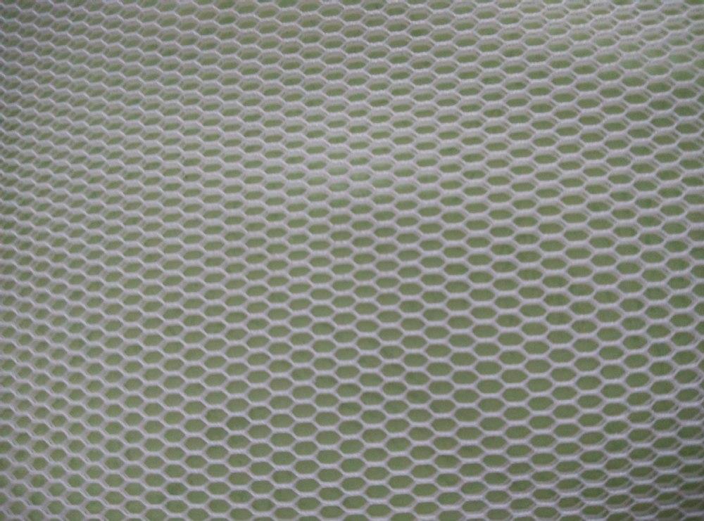 Hexagon Sandwich Polyester Air Mesh Fabric Warp Knit