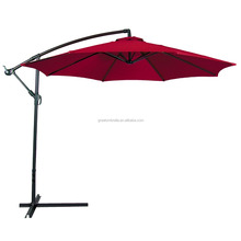 3m Garden Sun Shade Patio Banana Hanging Cantilever Umbrella