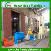 BEDO dry type floating fish feed pellet drying machine/feed pellet dryer machine