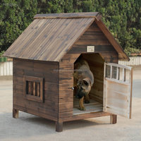 Timber log cabin dog Kennel (CERTIFIED BY FSC)