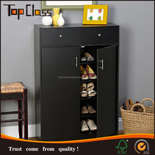 Modern Appearance Convenient durable closed shoe rack