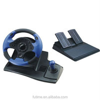 force feedback game controller,racing steering wheel for PC/ PS2/P3S/XOBX360/XBOX ONE/PS4