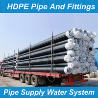 hdpe pipe (tuyau pehd) for water pipeline/gas pipeline/tube pehd