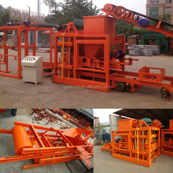 QTJ4-26 Automatic Brick Making Machine Price(custom mould)