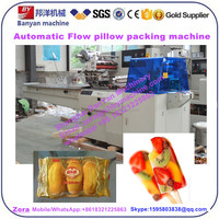 YB-450 Automatic Horizontal laundry soap 40583 flow pillow bag Packing machine with CE