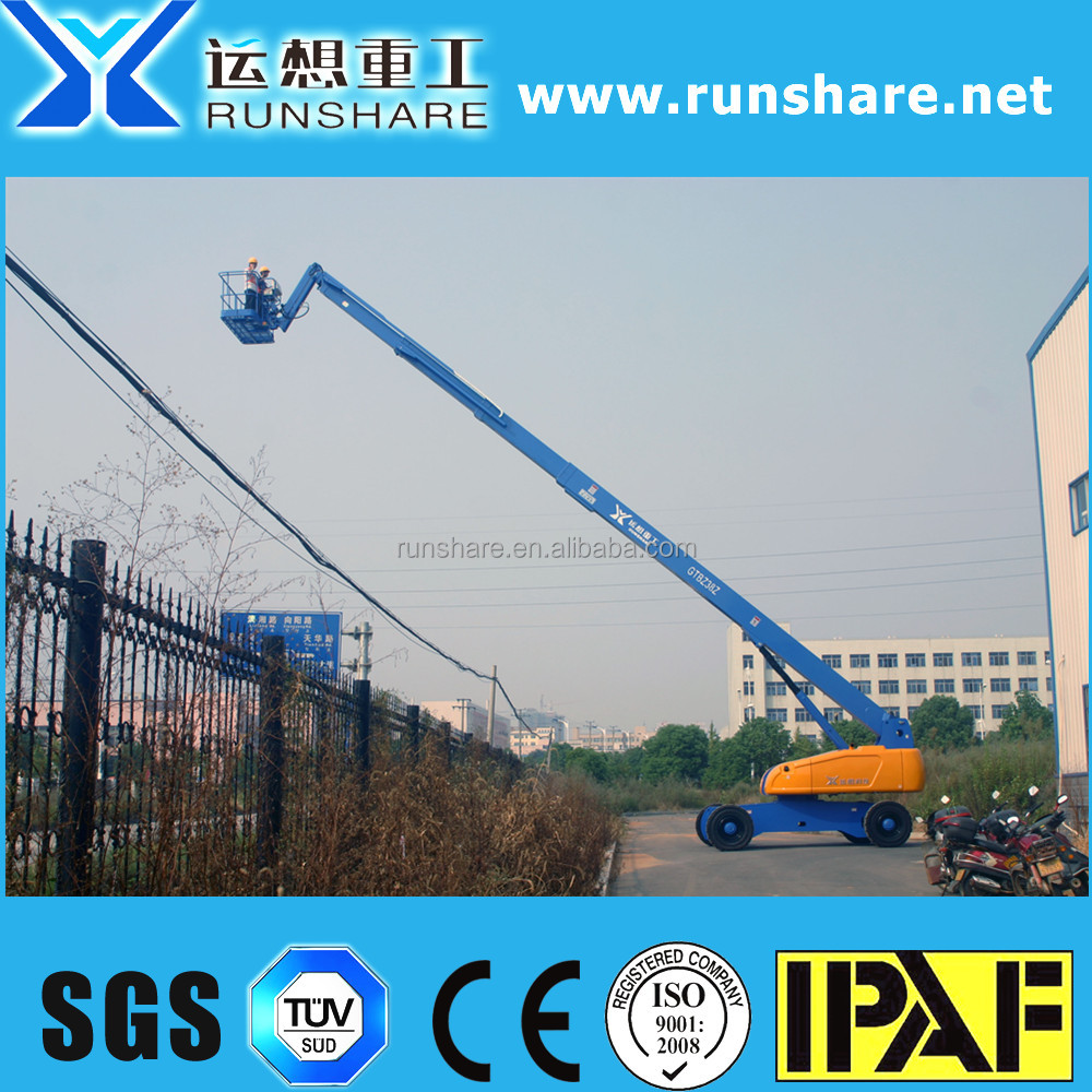 factory best price 38m diesel skylift with 480 capacity