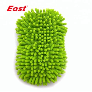 Chenille Scouring Pads Car Cleaning Sponge