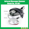 New Handheld Replaceable Head Electric Body Massager Hammer for Human Health