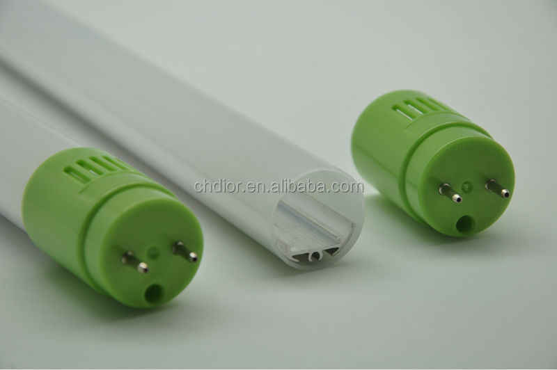 T8 LED Tube Light Housing Set,with Japan one pin end cap