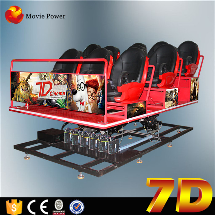 Large Scale Shooting Game Machine Indoor 7d Theatre Equipment