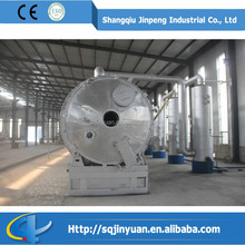 Used rubber/plastic recycle machine professional pyrolysis plant