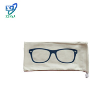 Eco-friendly microfiber cloth bag for glasses pouch