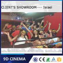 Malaysia 6D Cinema 5D Projector China 5D Cinema With Motion Platform Thrilling Feeling