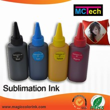 Dye Sublimation ink for Epson wide format inkjet printer of Micro Piezo nozzle