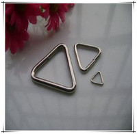 stainless steel wire wreath triangular rings