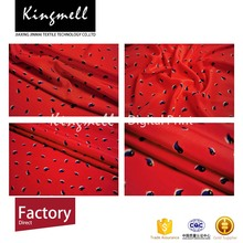 Factory direct customizable digital print georgette silk fabric for lady dress