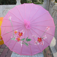 Chinese oil paper wedding decorative umbrellas