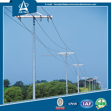Nine years foreign trade experience 132kv angle Q345 steel power transmission electric tower