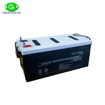 12V 200AH GEL solar battery / deep cycle battery / more AGM sealed lead acid battery available