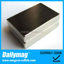 Block Shaped Magnet N52 Grade Rare Earth Neodymium Permanent Magnet