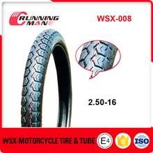 2016 Hot Wholesale Chinese 2.50-16 Motorcycle Tires