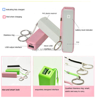 Chrismas gift items full color power bank real capacity 8000mah power bank for mobile phone