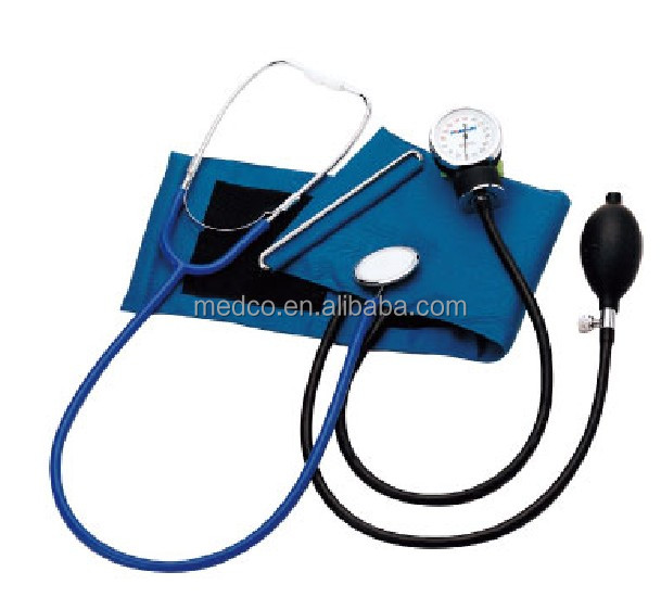 MK-50C High quailty Blood Pressure Monitor Medical Best Professional Aneroid Sphygmomanometer WIth Stethoscope