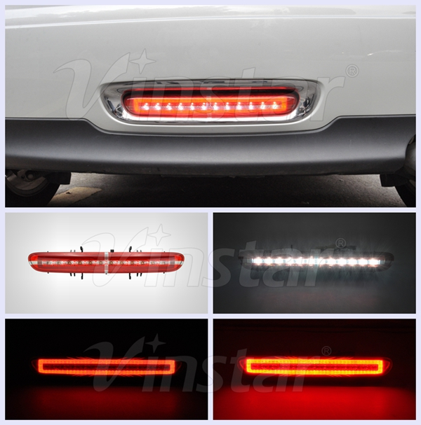R56 LED Rear Fog Light R57 LED Rear Fog Light Mini Cooper LED Rear Fog Light lamp with CE E4 R87 certificates