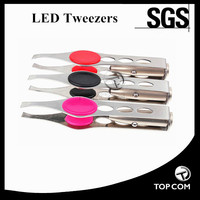 Battery Powered LED Flashing Tweezer
