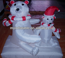 inflatable bear family