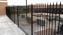 hot dip galvanized iron portable fencing