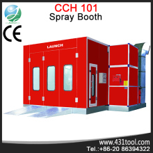 spray booth heating system
