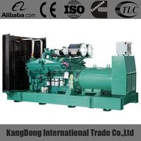 Spot supply diesel power 1000kva generator with Diesel Engine KTA38-G5