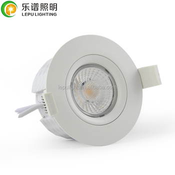 Actec driver led downlight adjustable dimmable 9w cutout83mm height49mm led downlight