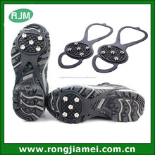 5 SPIKES Anti-slip Silicone ice grip & climbing ice crampons anti slip shoe cover